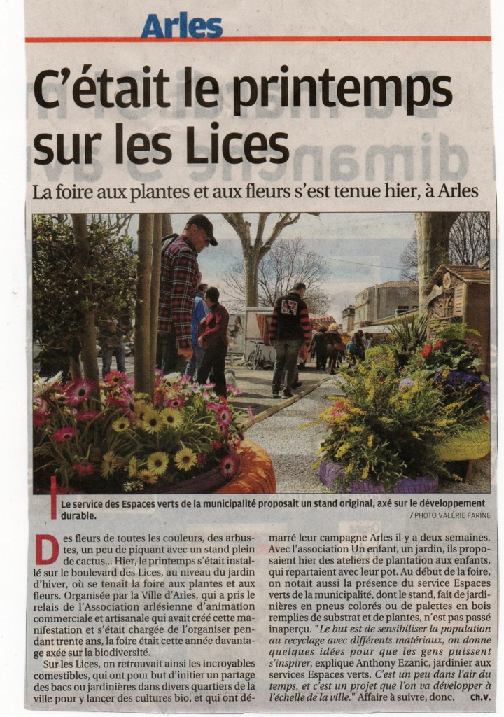 IC article foire